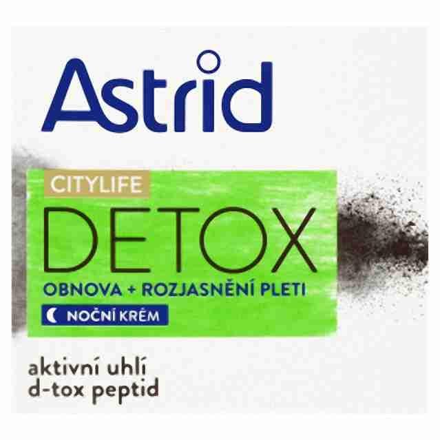 Astrid Citylife Detox noční rozjasňující krém 50ml