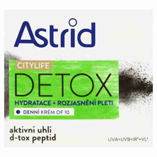 Astrid denní krém s OF10 Detox50ml