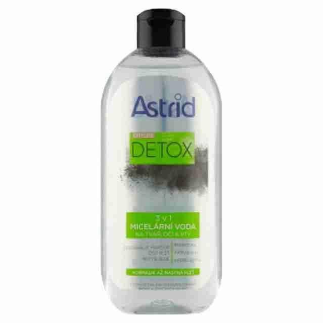 Astrid micelární voda Citylife Detox400ml