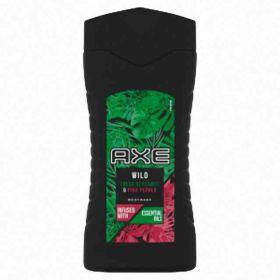 Axe sprchový gel Wild Fresh Bergamot & Pink Pepper pro muže 250ml