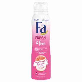 Fa deo spray Fresh & Free Grapefruit & Lychee 150ml (W)