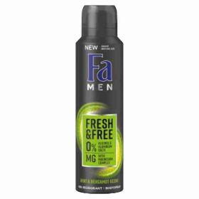 Fa deo spray Fresh & Free Mint & Bergamot 150ml (M)