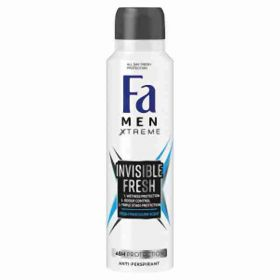 Fa deo spray Xtreme Invisible Fresh 150ml(M)