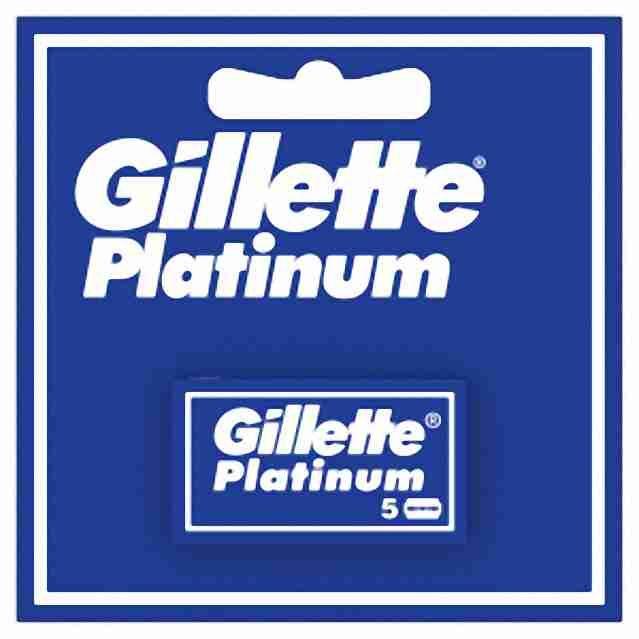 Gillette Platinum čepelky 5ks (krabička)