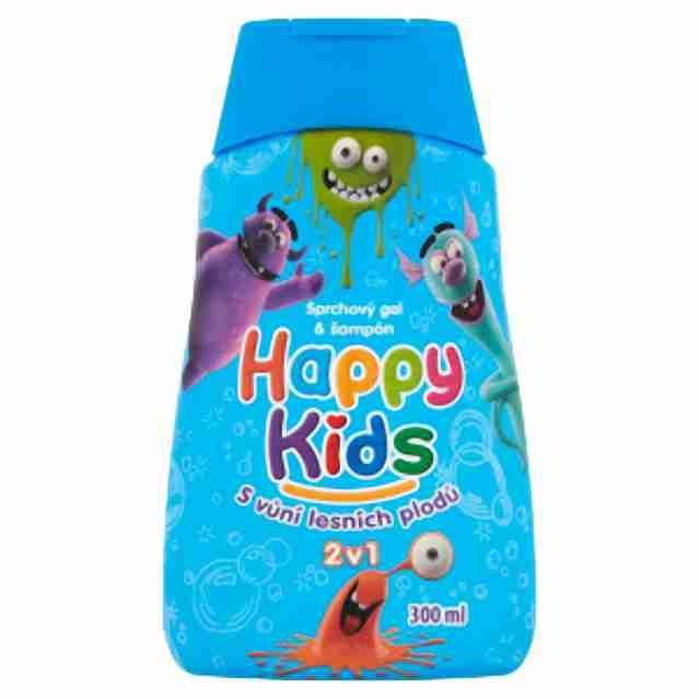 Happy kids sprchový gel chlapecký300ml
