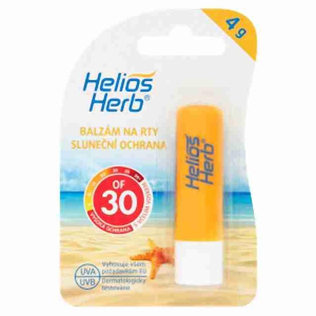 Helios Herb Balzám na rty OF 30