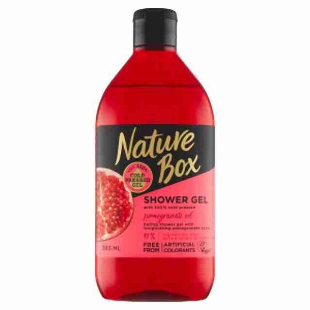 Nature Box sprchový gel Pomegranate385ml