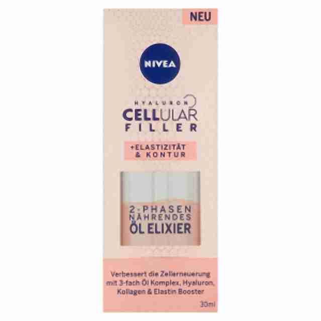 Nivea Cellular hyaluron elasticity olej 30ml