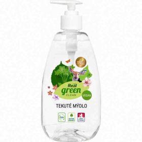 Real Green Clean tekuté mýdlo pumpa 500ml