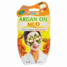 7Heaven Montagne Jeunesse čistící bahenní maska Arganový olej 15g