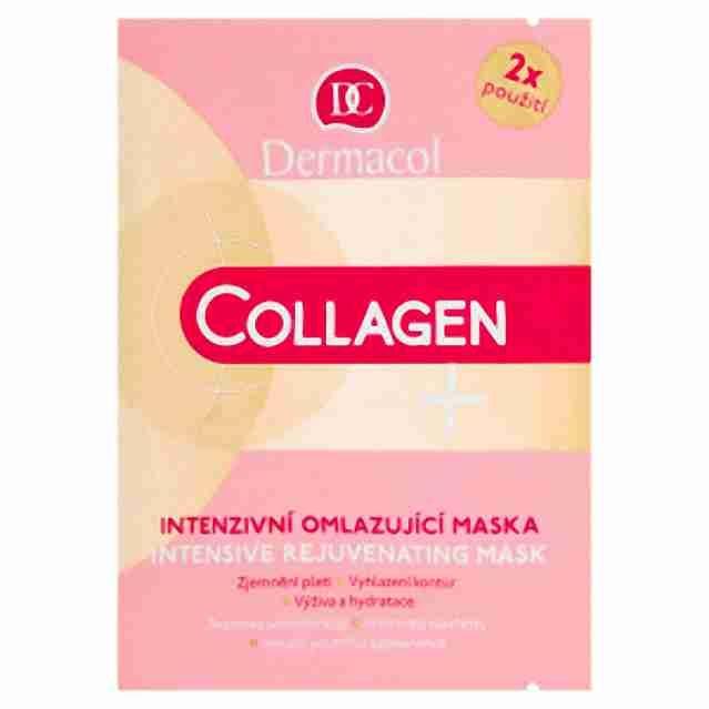 Dermacol Colagen + intenzivní mlazující maska 2x 8ml