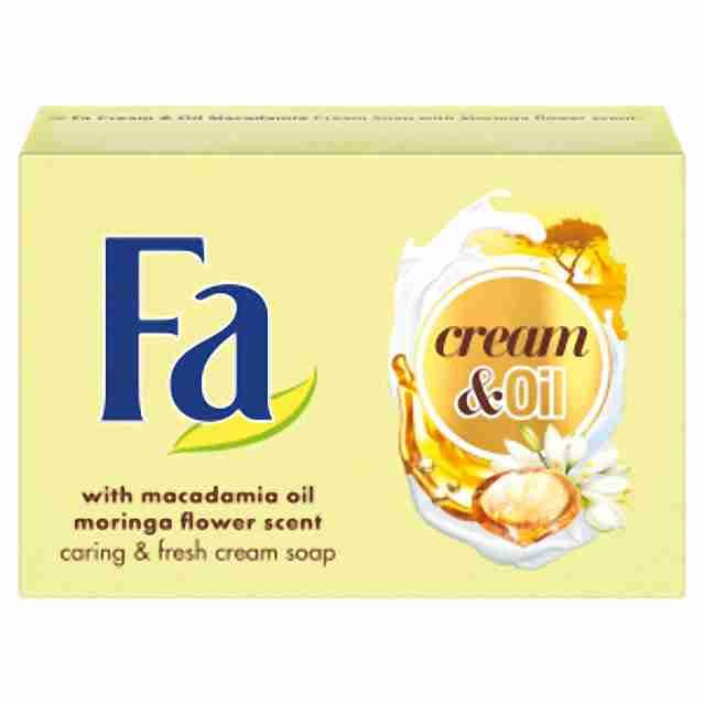Fa tuhé mýdlo Cream & Oil Moringa 90g