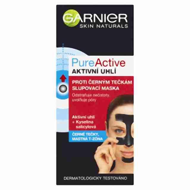 Garnier PureActive slupovací maska proti černým tečkám 50ml