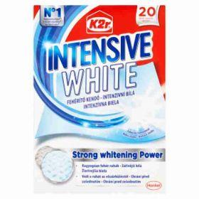 K2R prací ubrousky Intensive White 20ks
