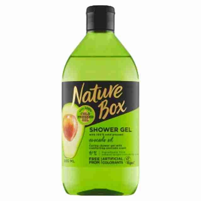 Nature Box sprchový gel Avocado oil385ml