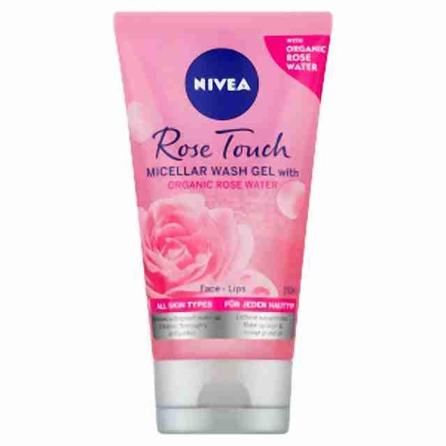 Nivea čisticí micelární gel Rose 150ml