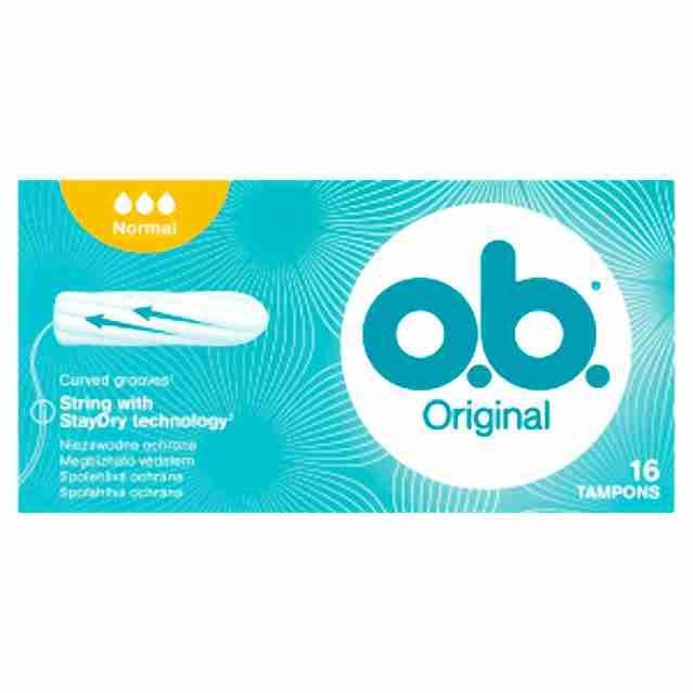 o.b. tampony new normal16ks