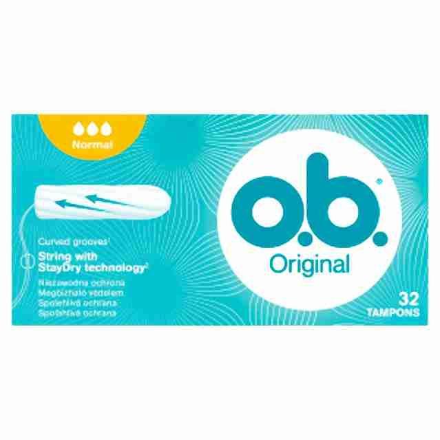 o.b. tampony new normal32ks