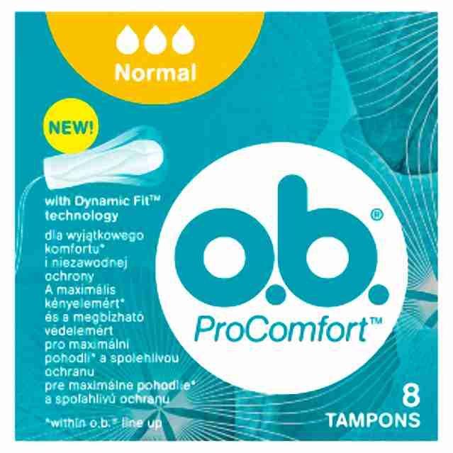 o.b. tampony new normal8ks