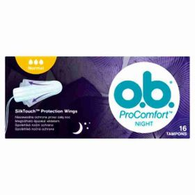 o.b. tampony new Pro Comfort night normal 16ks