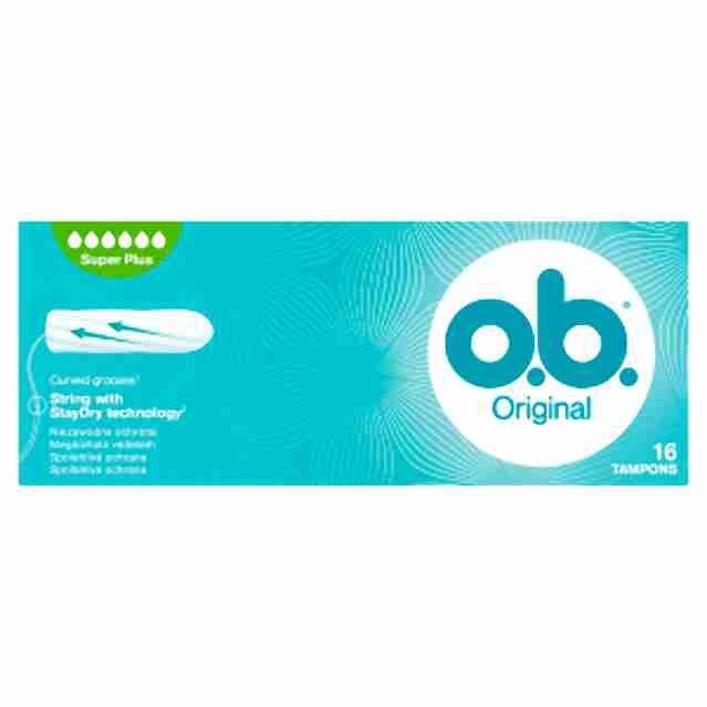 o.b. tampony new super plus16ks