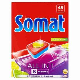 Somat XL tablety do myčky All in One Lemon 48ks