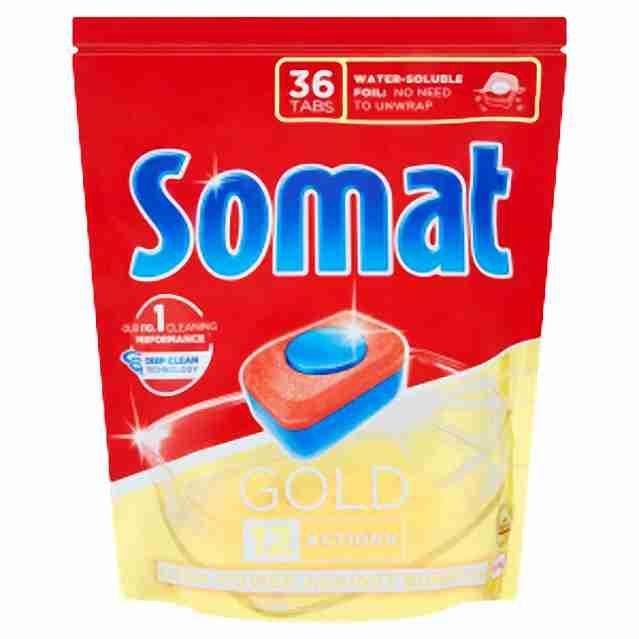 Somat XL tablety do myčky Gold 36ks