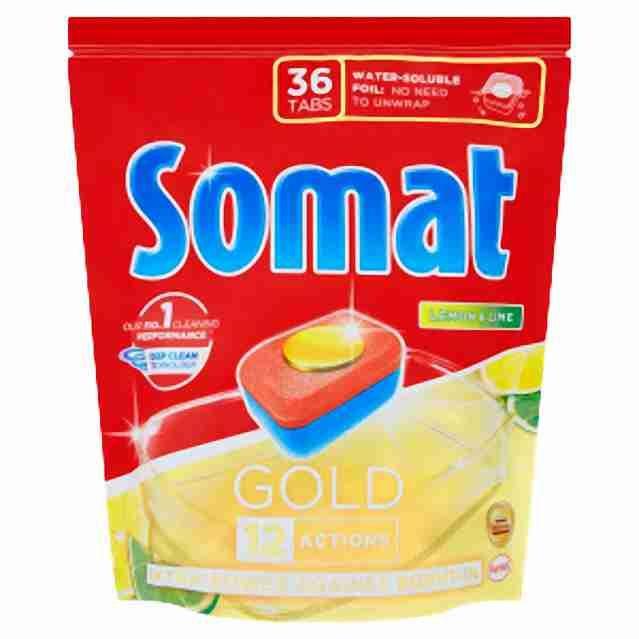 Somat XL tablety do myčky Gold Lemon 36ks