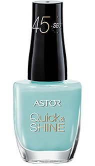 Astor lak na nehty Quick & Shine 609 Splash Of The Ocean 8ml