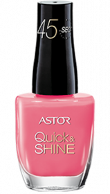 Astor lak na nehty Quick & Shine 612 Package It Pink 8ml