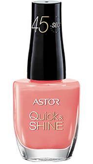 Astor lak na nehty Quick & Shine 613 Shop Till You Drop 8ml