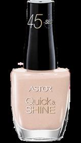 Astor lak na nehty Quick & Shine 620 Madeleine 8ml