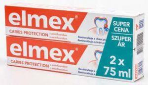 Elmex zubní pasta červená 2x 75ml