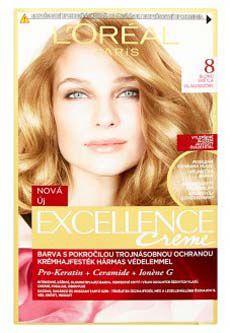L'oreal Paris excellence barva na vlasy 8 blond světlá