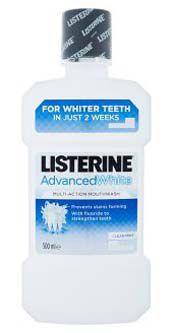 Listerine ústní voda Advanced White 500ml