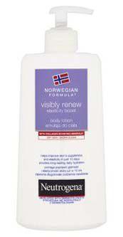 Neutrogena tělové mléko Visibly renew 400ml