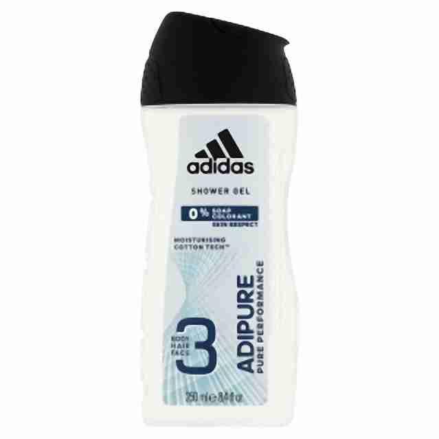 Adidas sprchový gel Adipure 250ml(M)