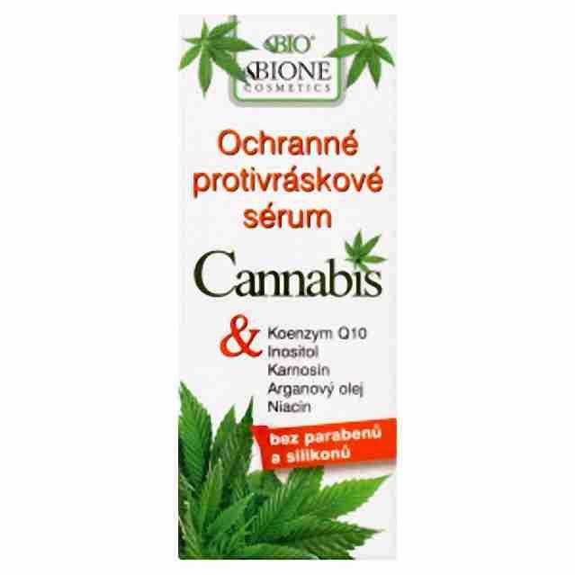 Bione Cosmetics Cannabis ochranné protivráskové sérum 40ml
