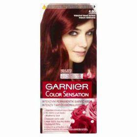 Garnier col sen 4.60 rubínově červená