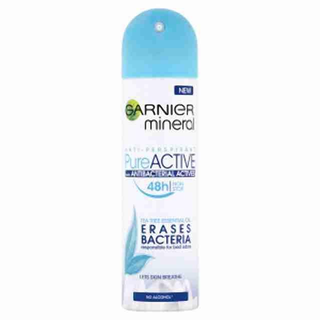Garnier deo spray Mineral Pure Active150ml (W)