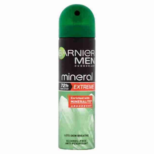 Garnier deo spray mineral Xtreme 150ml (M)