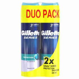 Gillette gel na holení Series Extra Protection 2x 200ml