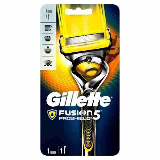 Gillette ProShield Flexball strojek + 1hlavice
