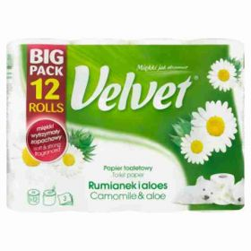 Kleenex Veltie heřmánek 3vrstvý 12rolí