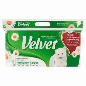 Kleenex Veltie toaletní papír 3-vrstvý heřmánkový 8rolí