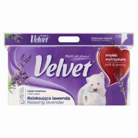 Kleenex Veltie toaletní papír 3-vrstvý levandule 8rolí