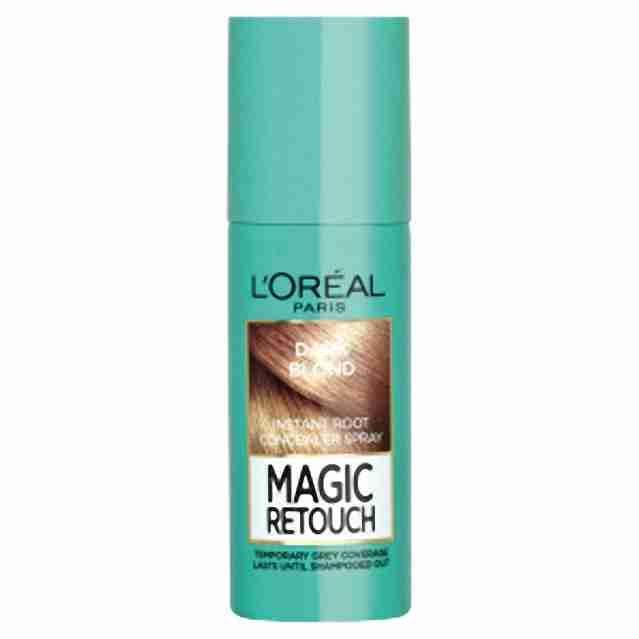 L'oreal Paris vlasový korektor šedin a odrostů Magic retouch tmavá blond 75ml