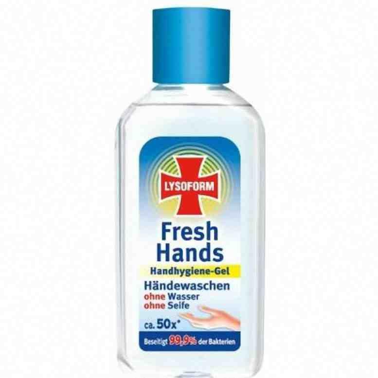Lysoform dezinfekční gel na ruce 50ml