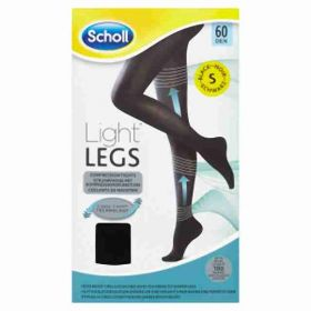 Scholl LightLegs kompresní punčocháče velikost S
