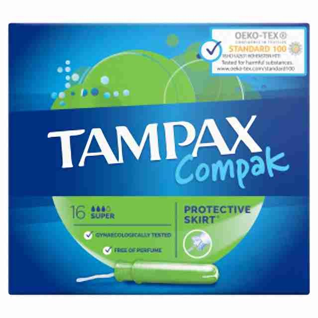 Tampax compak super 16ks